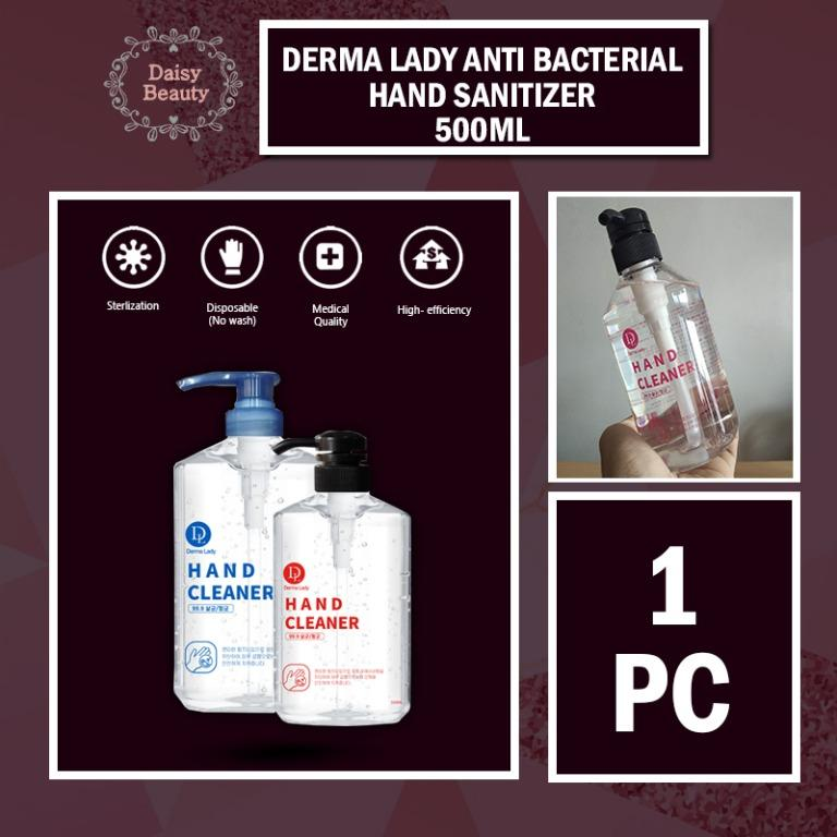 DERMA LADY ANTI BACTERIAL HAND SANITIZER 500ML