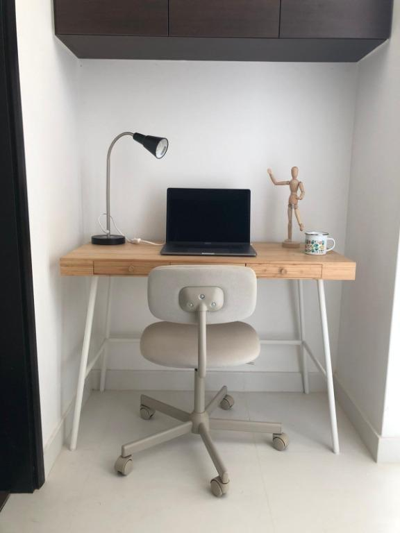 Desk Table Chair Furniture Tables Chairs On Carousell