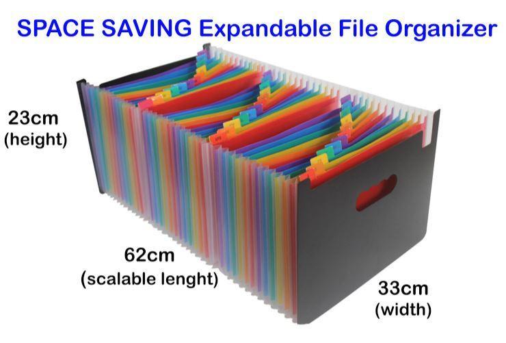 Expandable Folder Space Saving File folder