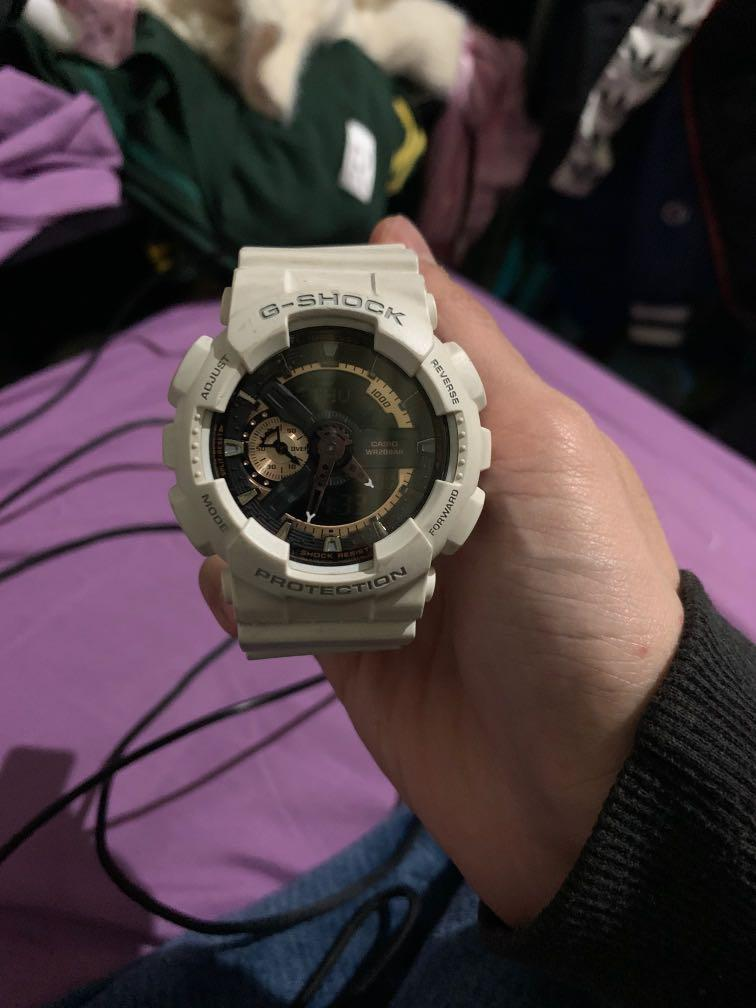 G shock protection 白色