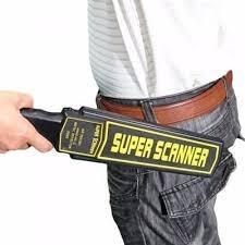 Handheld Metal Scanner Super Scanner High Security Performance Handheld Metal Detector