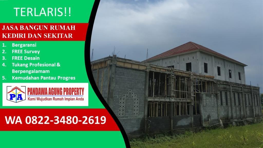 HEMAT BIAYA Jasa Bangun Rumah Instan di Kediri, PANDAWA AGUNG PROPERTY