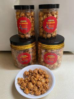 Homemade Biscoff Caramel Popcorn
