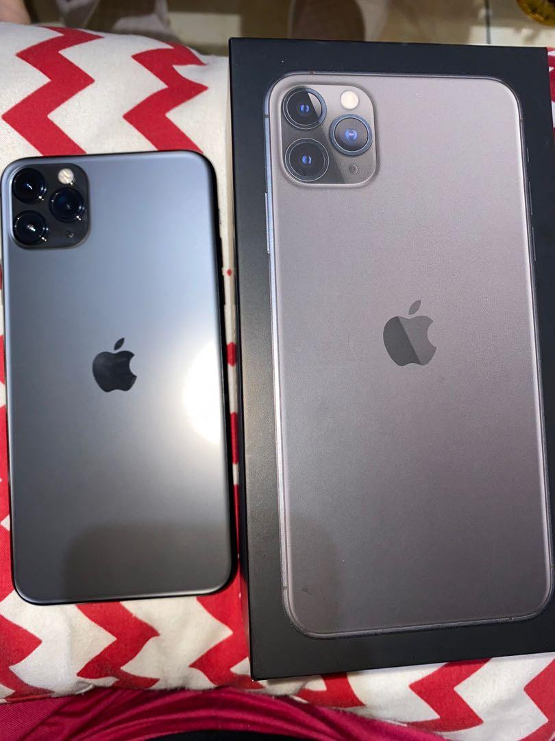 Iphone 11 Pro Max 256gb grey second