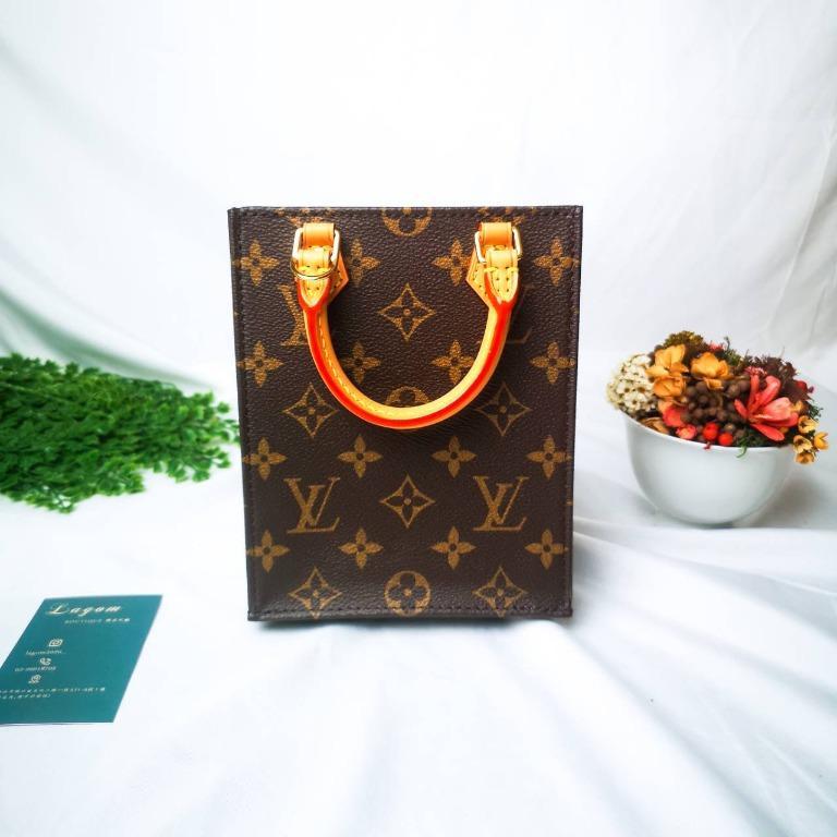 Louis Vuitton PETIT SAC PLAT Monogram 迷你風琴包(老花)