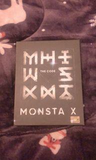 Monsta X 第五張迷你專輯 THE CODE 空專