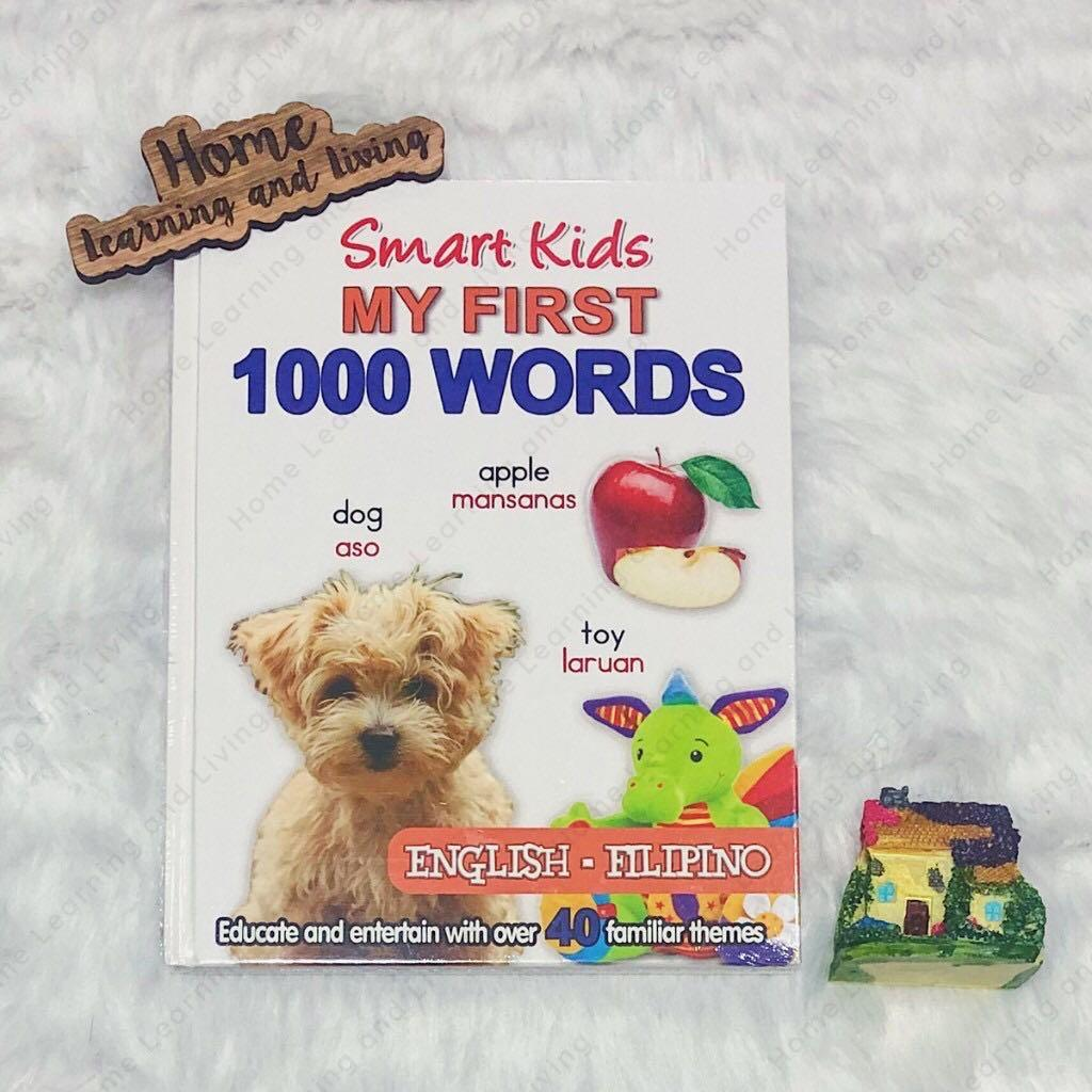 My First 1,000 Words (English-Filipino) - Books for Kids