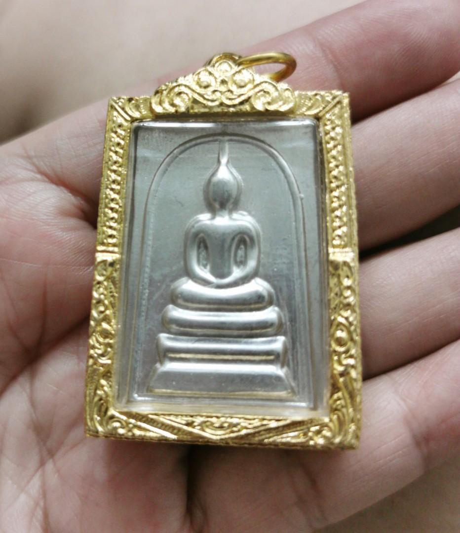 PHRA SOMDEJ LEKLAI AMULET for wellness, luck, wealth and protection