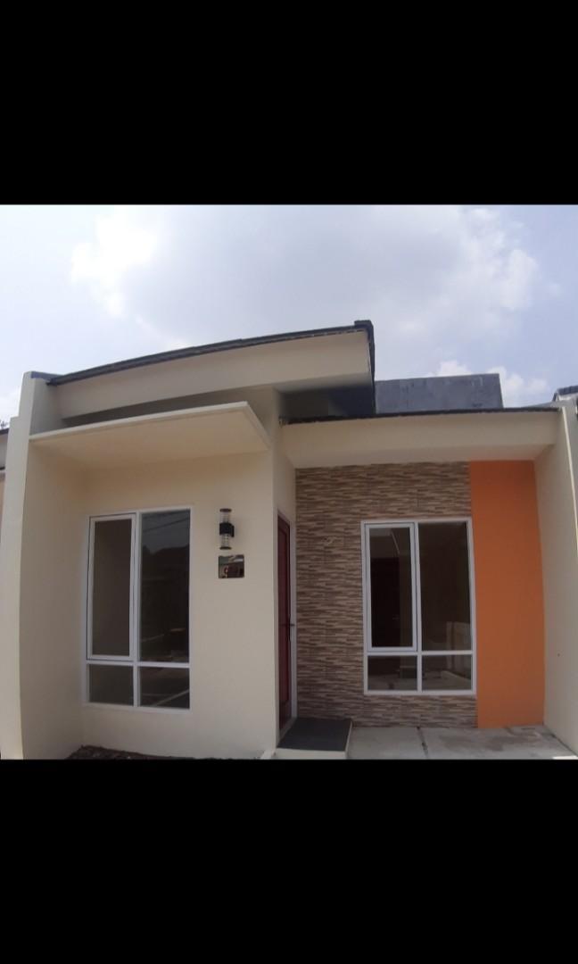 Rumah minimalis modern cicilan DP murah banget free biaya2 exit tol Cimanggis