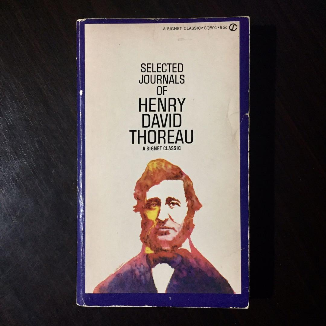 Signet Classic: Selected Journals of Henry David Thoreau