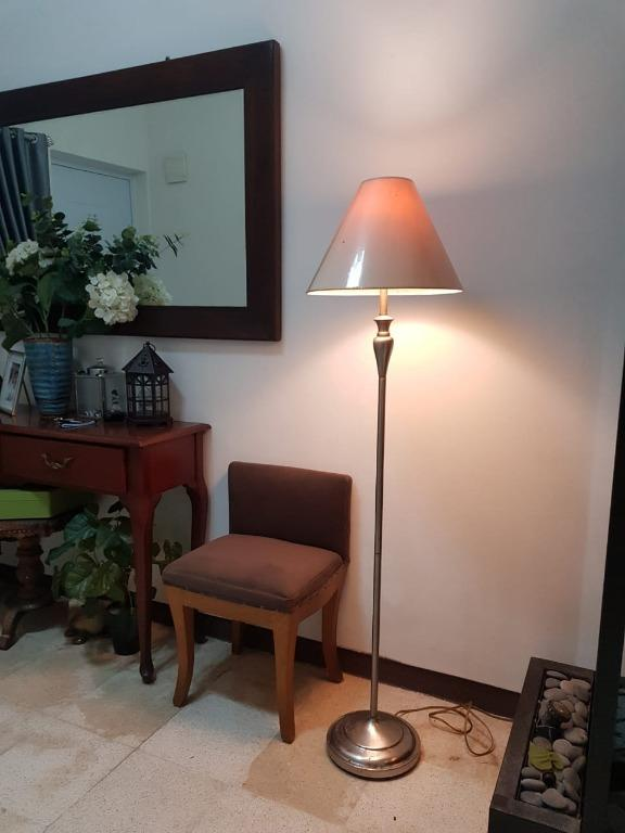 Standing Lamp silver