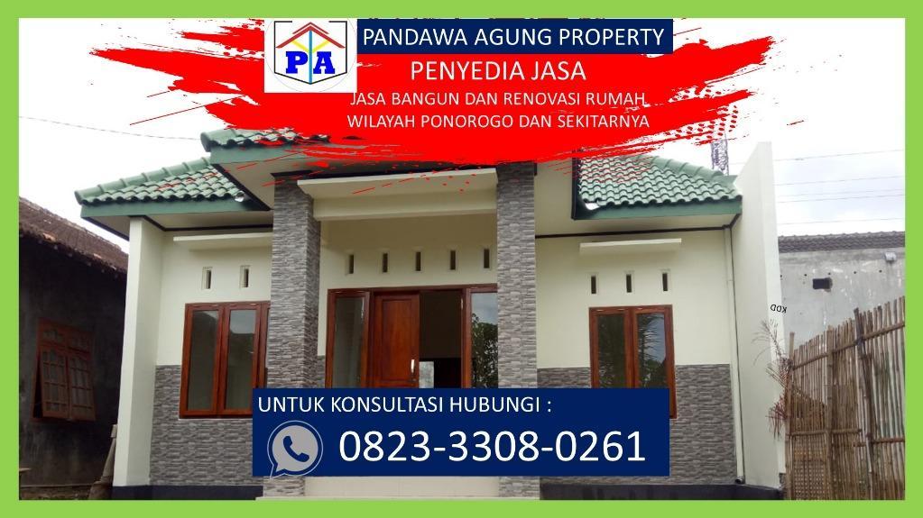 TERPERCAYA    0823-3308-0261   Kontraktor Rumah Minimalis di Ponorogo, PANDAWA AGUNG PROPERTY