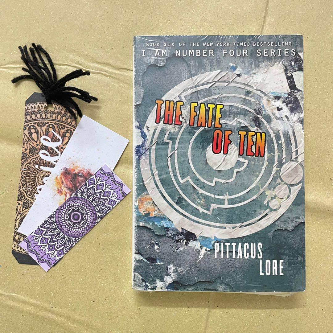 The Fate of Ten by James Frey and Jobie Hughes