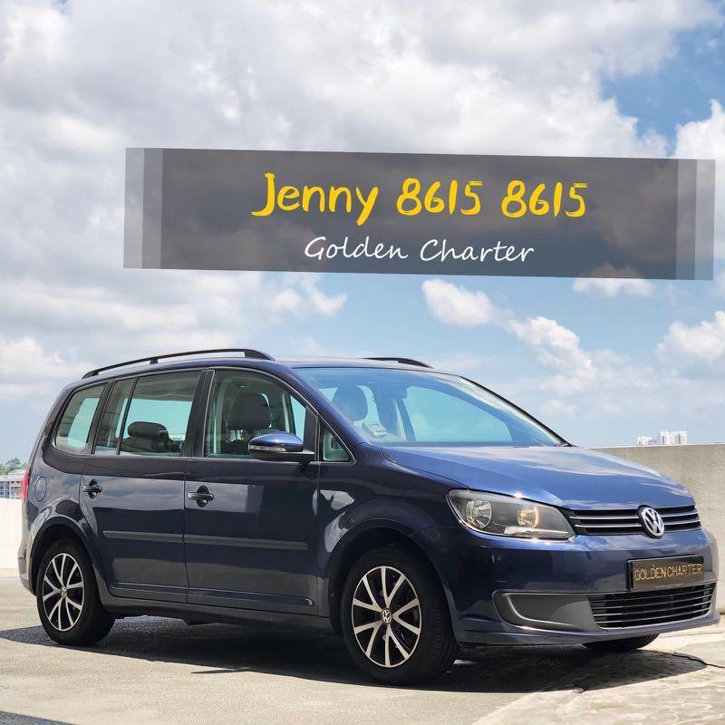 Volkswagen Touran 1.4A MPV Grab gojek usage personal use long term conti car LAST UNIT