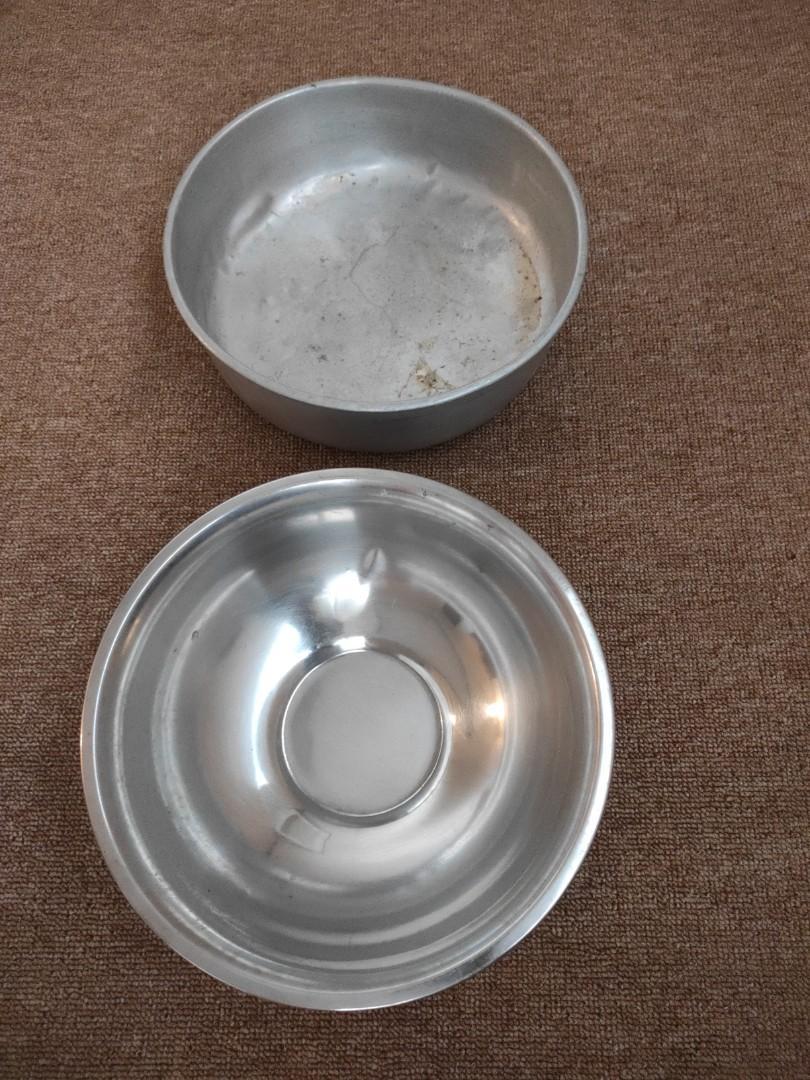 2pcs Wadah stainlis serbaguna