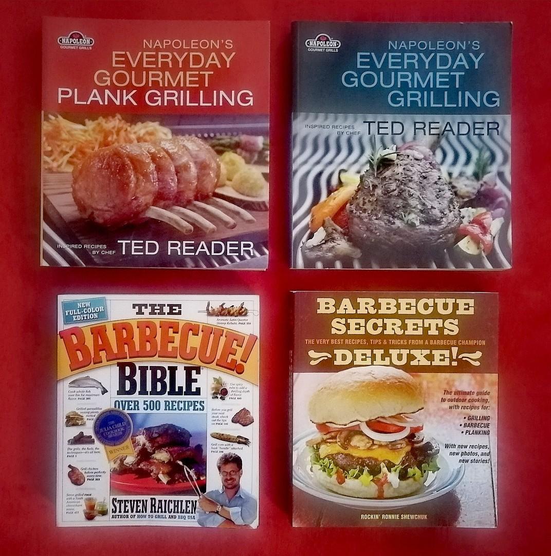 4 BBQ Cookbooks