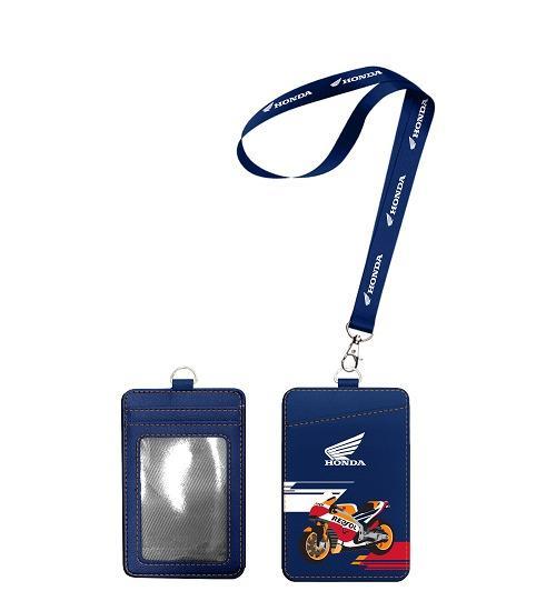 7-11集點 Moto GP冠軍榮耀 皮革證件套 Honda款