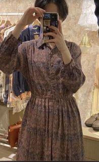 復古古著洋裝