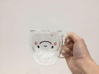 鼎泰豐雙層玻璃杯