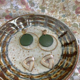 針式耳環(⁎⁍̴̛ᴗ⁍̴̛⁎)