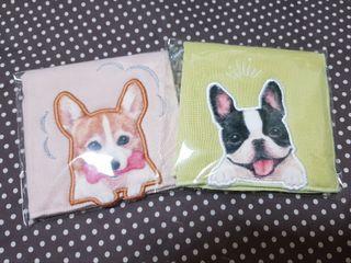 超療癒狗狗立體圖案毛巾,日本購入,可賣可送