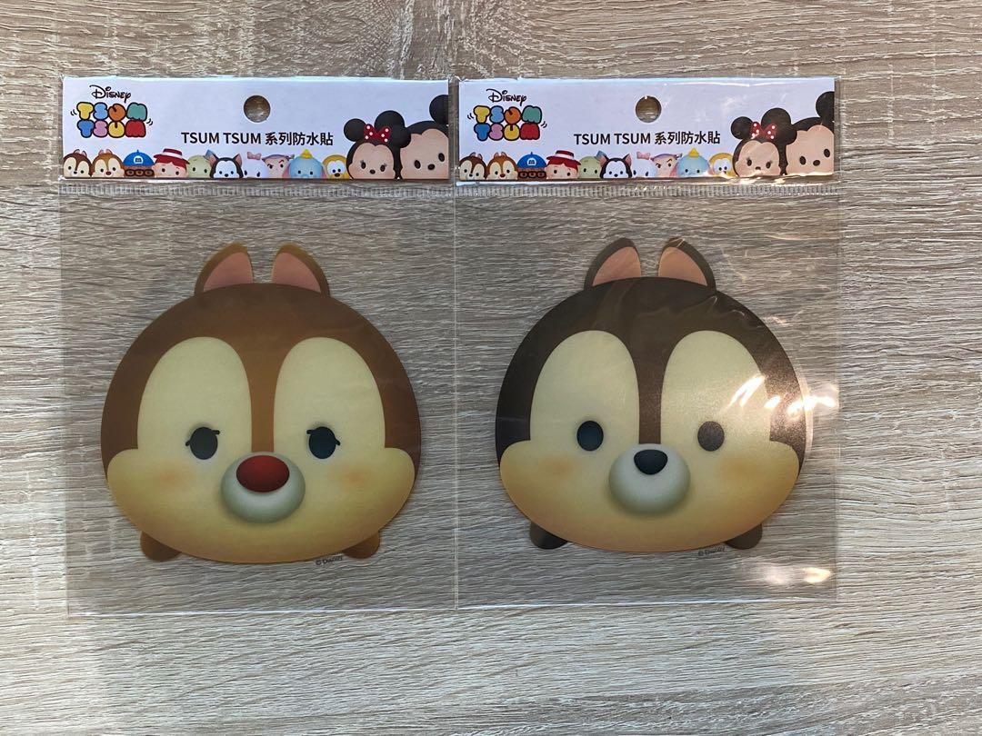 迪士尼正版行李大貼紙 奇奇蒂蒂 可愛卡通