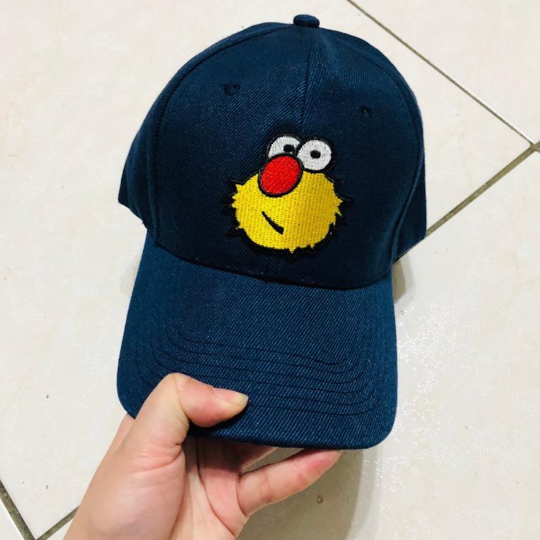 全新  棒球帽 鴨舌帽 老帽  黃色大眼毛怪
