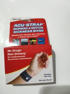 ACU strap morning and motion sickness band