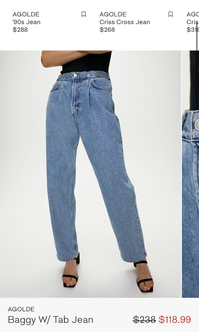 Agolde Baggy Tab Jeans