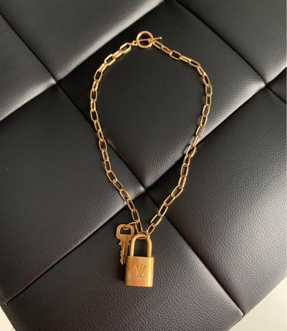 Authentic Lock & Key Necklace