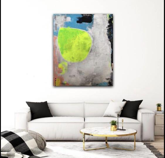Beautiful abstract painting (hand painted)