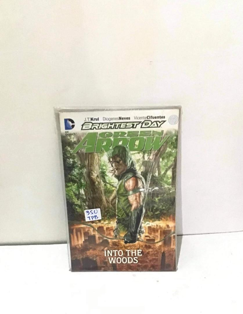 Brightest Day Green Arrow Into the Woods (dc comics)