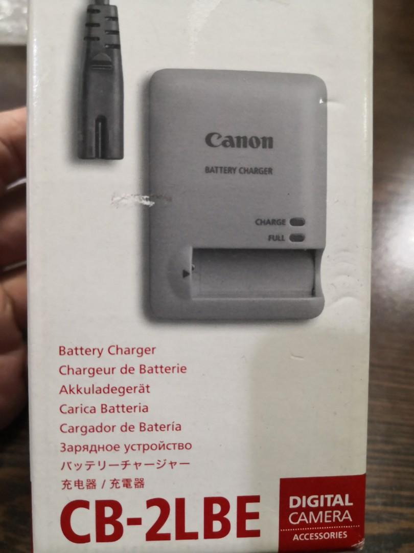 Canon 2LBE battery charger