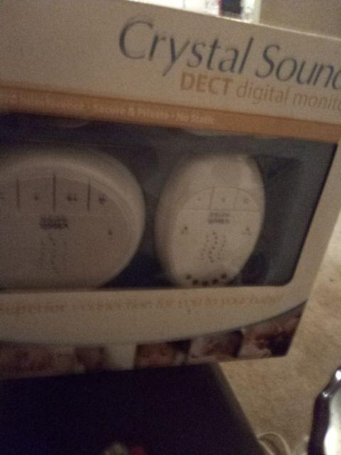 Crystal sounds dect Digital Monitor