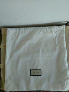 Dustbag gucci putih authentic