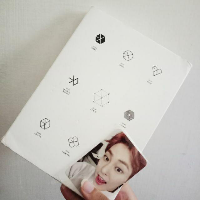 EXO第三張正規專輯 [EX'ACT] Luck One中文版