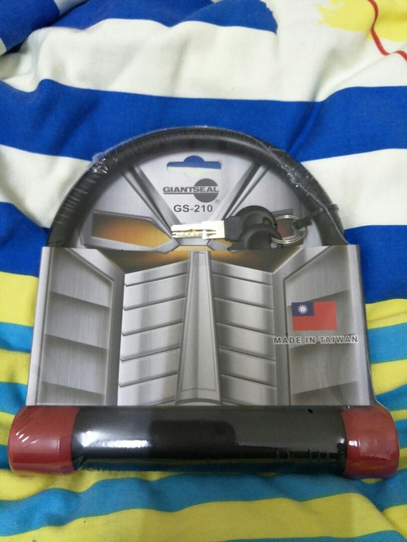 Giantseal GS-210機車鎖/防盜鎖/U型鎖
