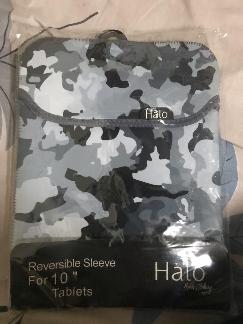 Halo ipad/tablet sleeve