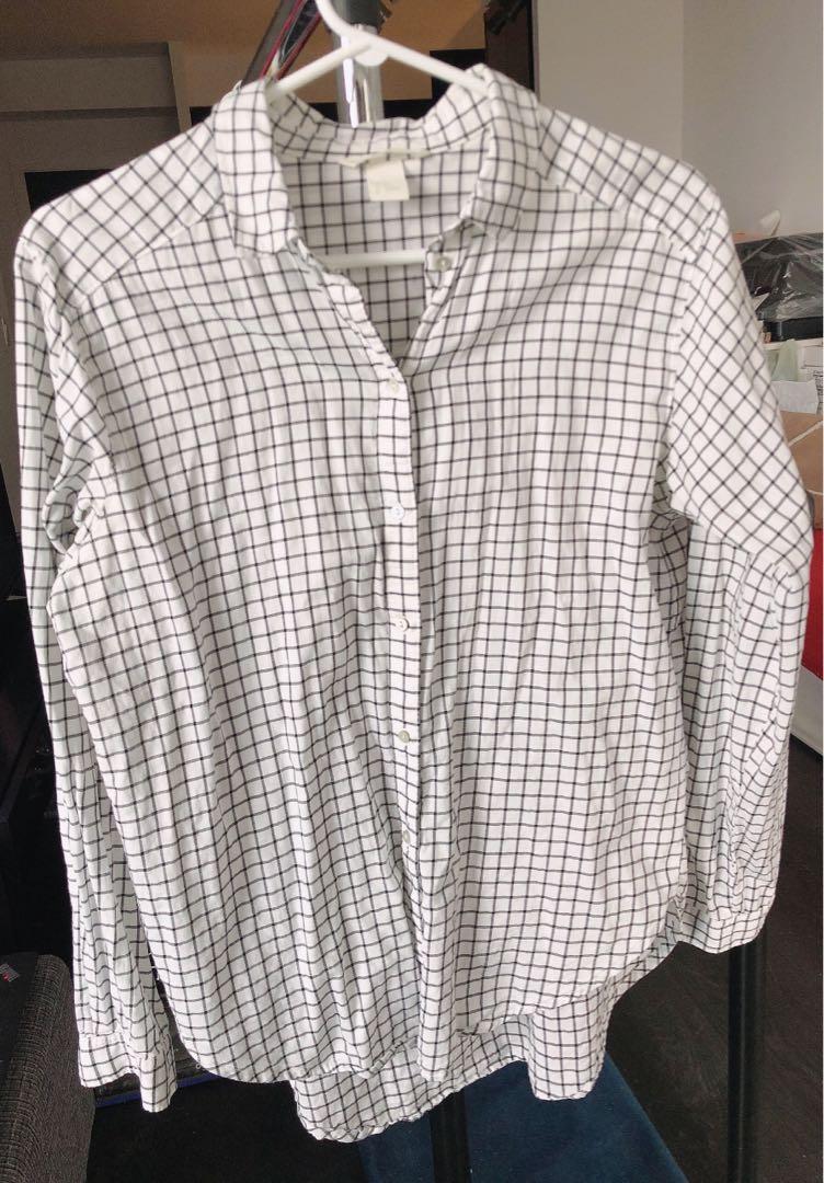 H&M Checkered Cotton Shirt