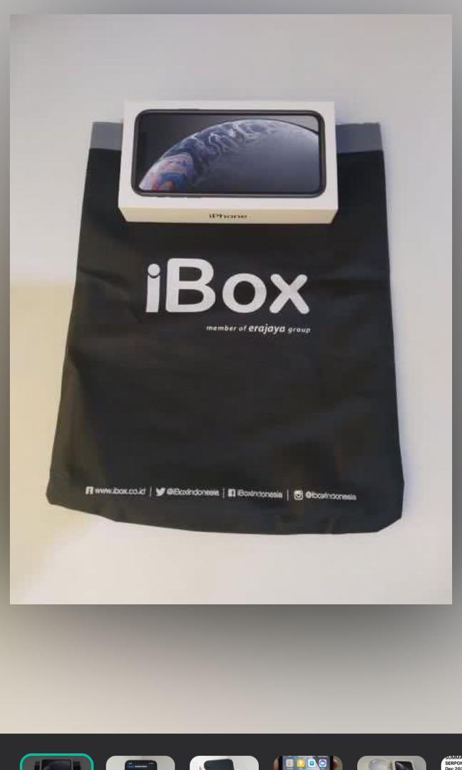 IPHONE XR - iBOX 1 TAHUN