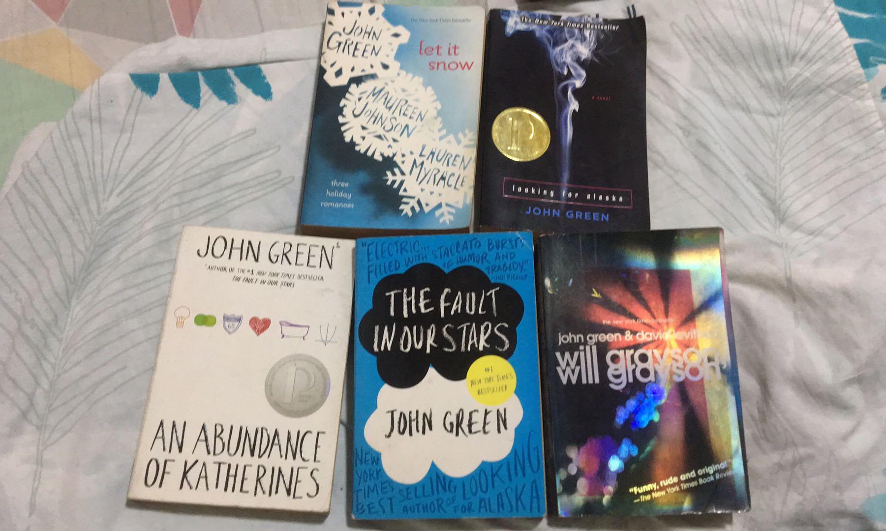 John Green Books (All 5)