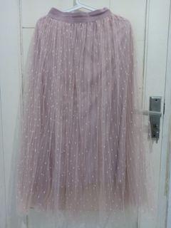 Jual Rok Tutu / Tule Dusty Pink