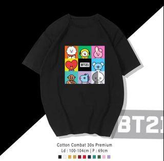 Kaos Baju Atasan BT21