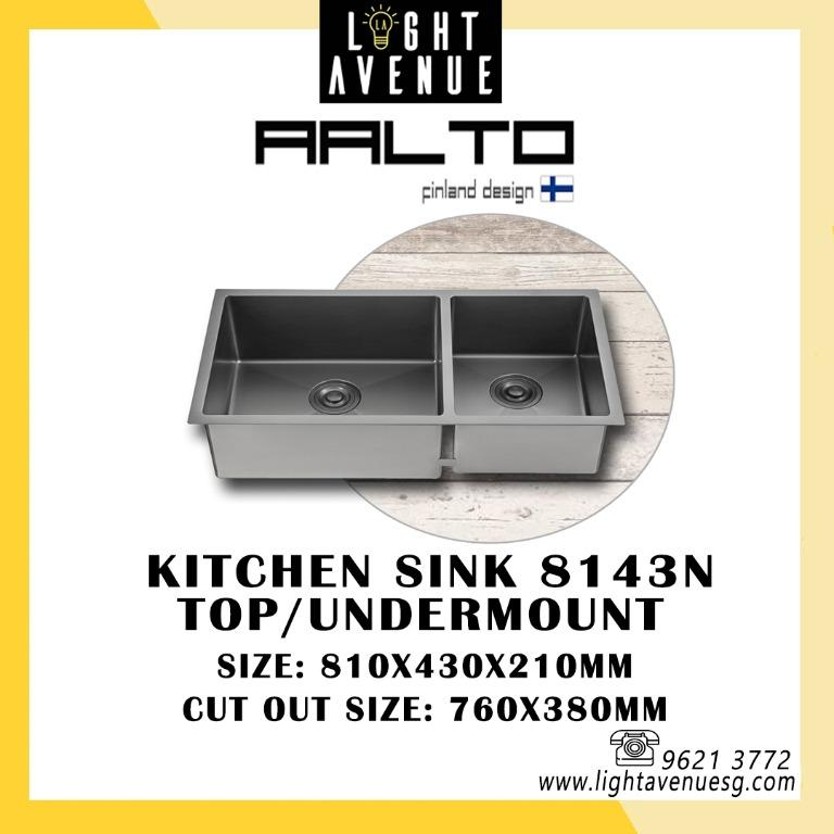 Aalto Kitchen Sink Furniture Home Living Bathroom Kitchen Fixtures On Carousell