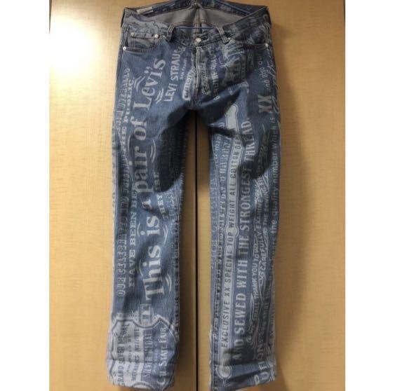 Levis 501牛仔褲
