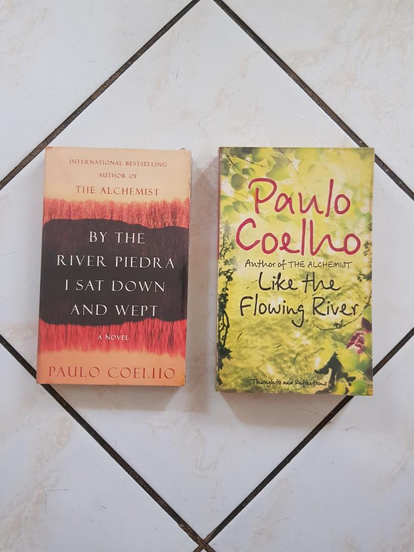 Like the Flowing River & By The River Piedra I Sat Down and Wept by Paulo Coelho (Bundle or Per Book)