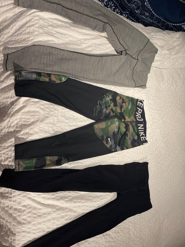 Lululemon and Nike leggings size 4