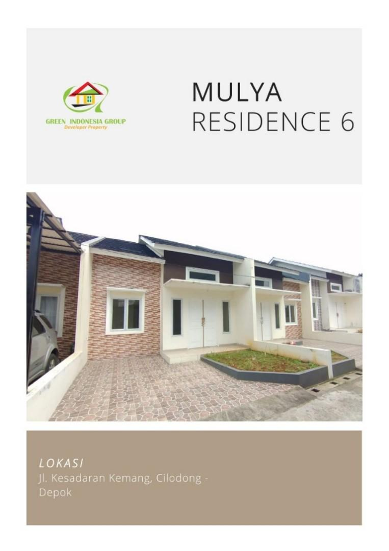 Mulia residence 6 cluster modern di raden saleh depok