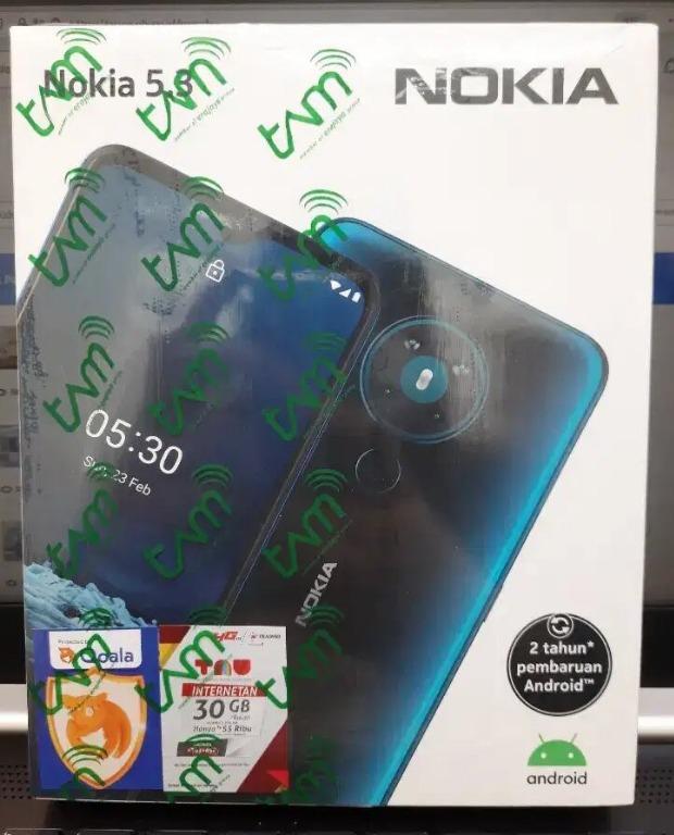 Nokia 5.3 6GB/64GB New Resmi SEdia TT/CCSPLit/KReDit