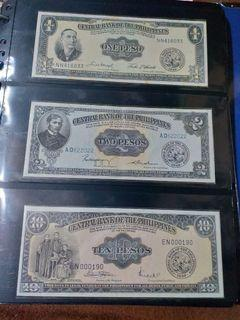 philippines old banknotes